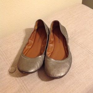 Lucky Leather Flats EUC 9 Nordstrom slides slip on